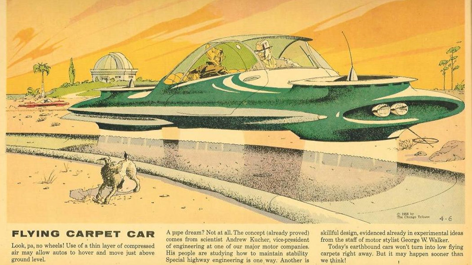 In the 1950s, Ford Motor's vice-president pushed for a