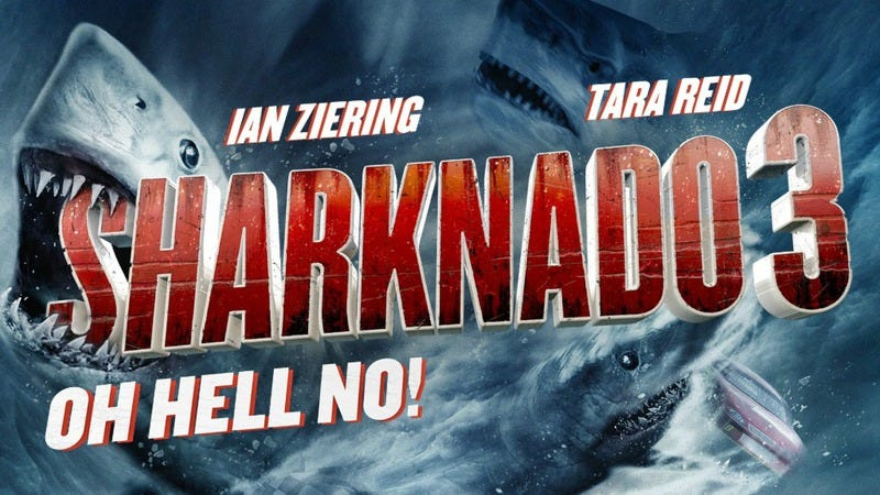 Illustration for article titled Did somebody order a Sharknado? Well done