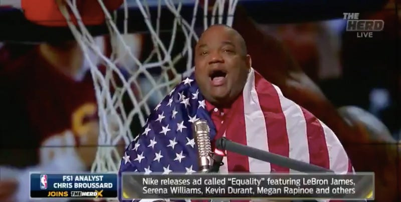 Illustration for article titled Coworker, Athletes Give Jason Whitlock Shit For Criticizing LeBron On Racism