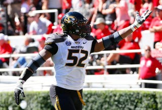 Michael Sam of the Missouri TigersKevin C. Cox/Getty Images