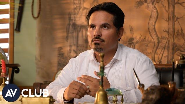 How Michael Peña kept Mr. Rourke's signature white threads spotless for Fantasy Island