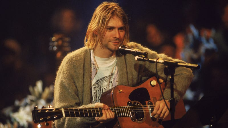 Illustration for article titled Turns out Bobcat Goldthwait was an important part of Nirvana's MTV Unplugged