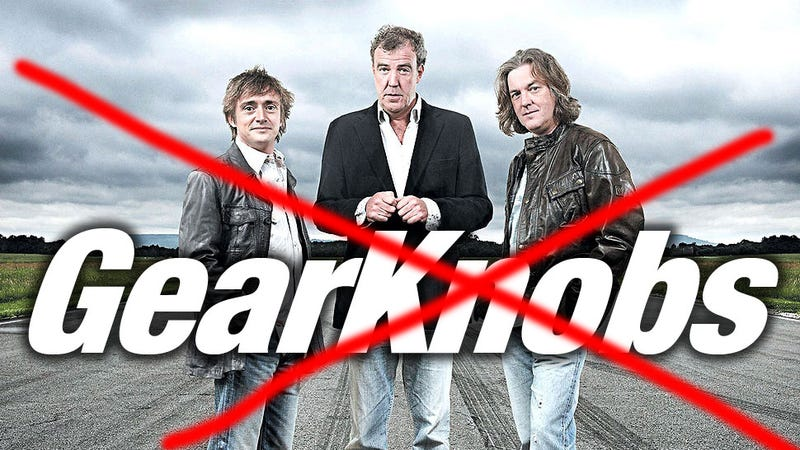 Illustration for article titled The Top Gear Guys' New Amazon Show Will Not Be Called 'Gear Knobs,' Thankfully