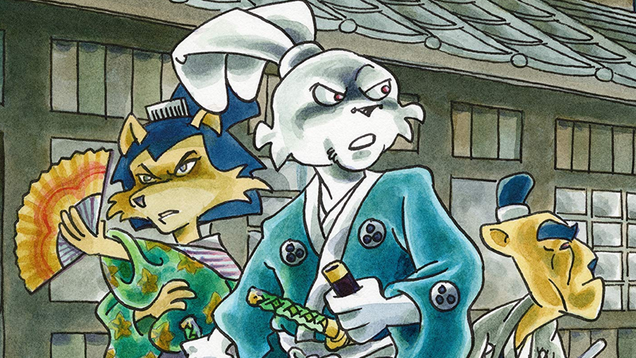 Netflix Is Turning Usagi Yojimbo Into an Animated Series