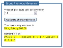 Illustration for article titled Create passwords in a flash with Strong Password Generator