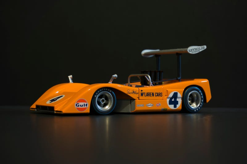 Illustration for article titled Week of 1:18 Finale: McLaren M8B