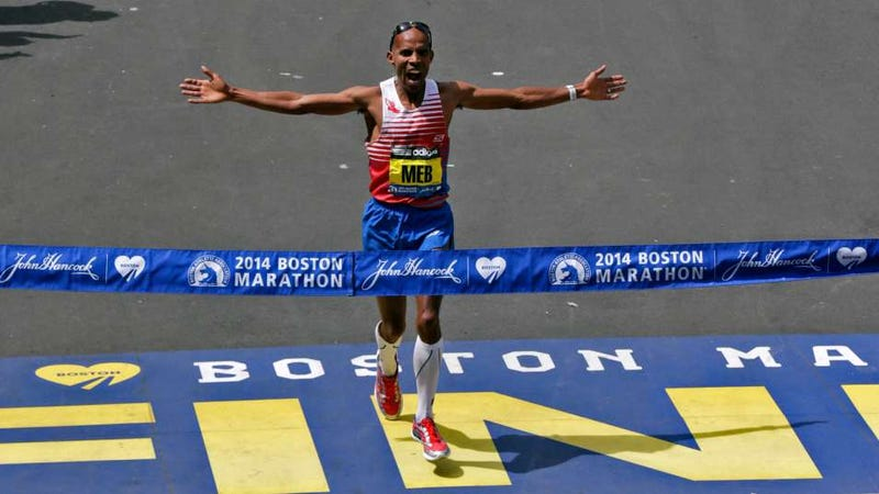 Illustration for article titled Boston Marathon 2014