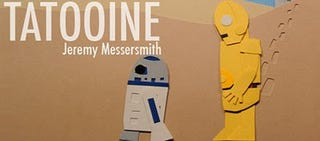 Illustration for article titled Star Wars Trilogy In Two Minutes Papercraft