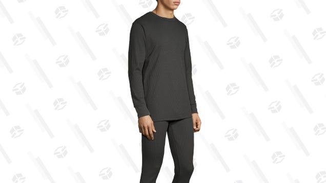Winter Is Coming, Pick Up This Discounted Thermal Underwear Set