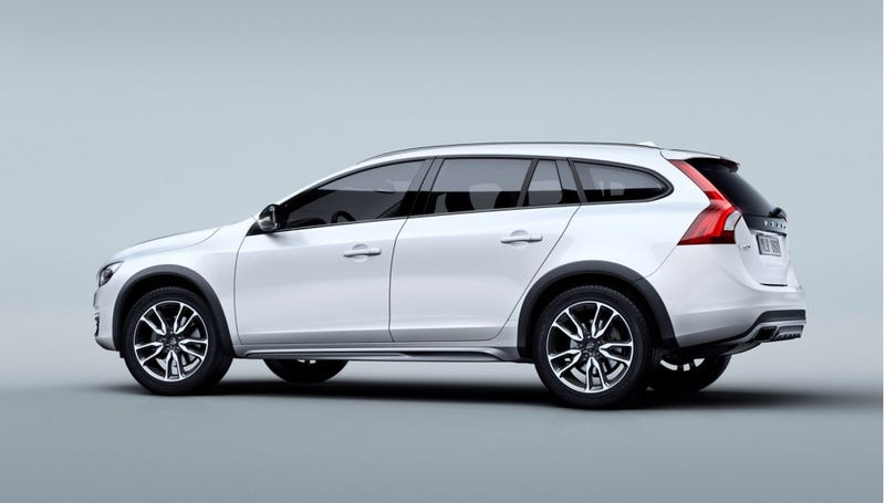 Illustration for article titled The Volvo V60 Cross Country Will Probably Kill The V60 Wagon