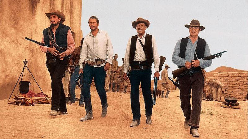 Illustration for article titled One of the greatest Westerns ever also birthed the John Woo shoot-'em-up