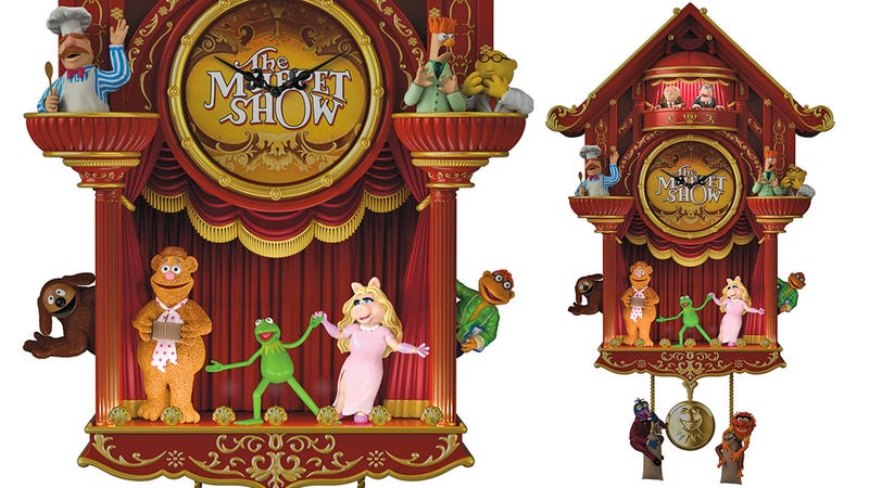 Illustration for article titled Check Out This Most Sensational, Inspirational, Celebrational, Muppetational Cuckoo Clock
