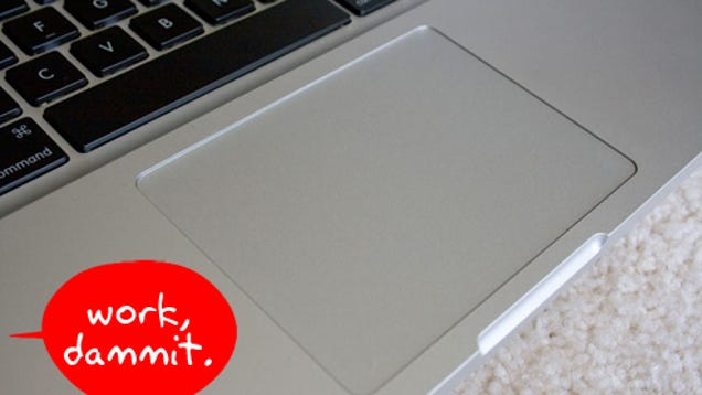 how to fix apple trackpad macbook