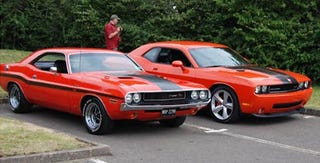 Illustration for article titled British Mopar Enthusiast Earns Fame Three Seconds At A Time With Vintage Challenger