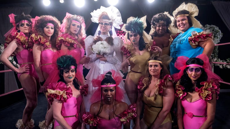 The cast of Netflix's GLOW.