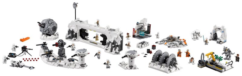 Illustration for article titled Lego Star WarsReturns to Hoth With This Amazing Playset