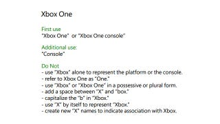 Illustration for article titled Here Are The Rules For What You Can (And Can't) Call The Xbox One