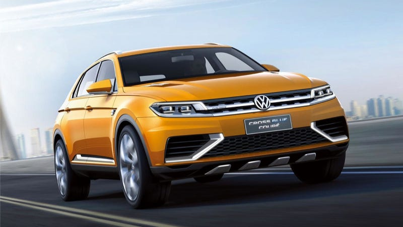 Illustration for article titled The Volkswagen CrossBlue Coupe Is Neither Blue Nor A Coupe, Discuss