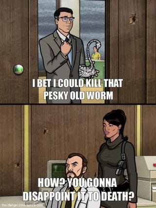 Illustration for article titled Pesky Old Worm