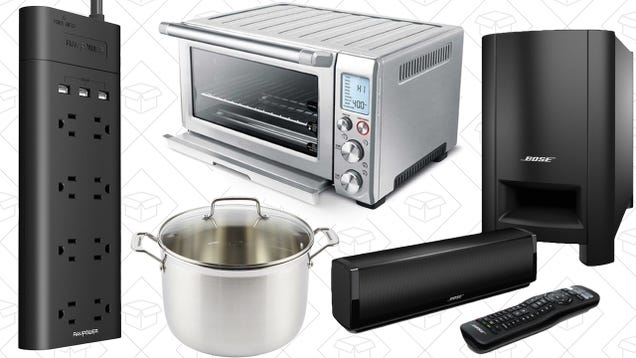 Saturdays best deals breville smart oven bose cinemate and more your favorite toaster oven a tri ply stockpot and one of your favorite blenders lead off saturdays best deals fandeluxe Choice Image