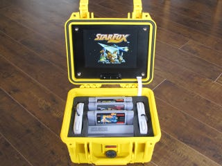 Illustration for article titled This Portable SNES Looks Like It'd Fit Right In at an Emergency Command Post
