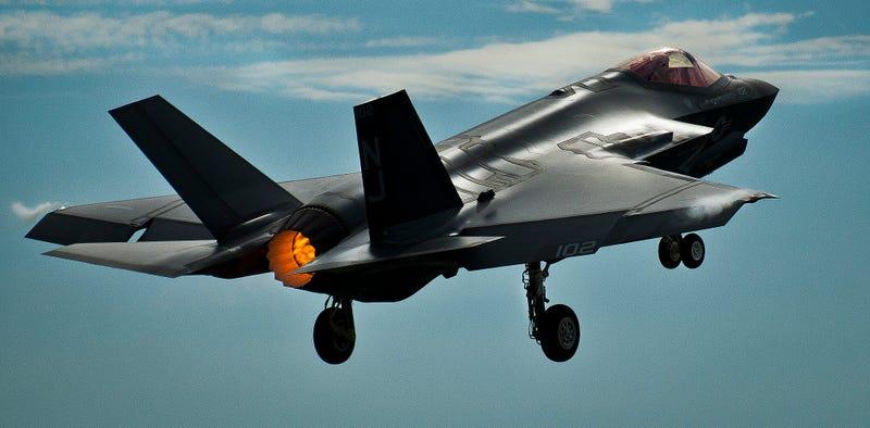 F-35C, U.S. Air Force photo via ermaleksandr on Flickr