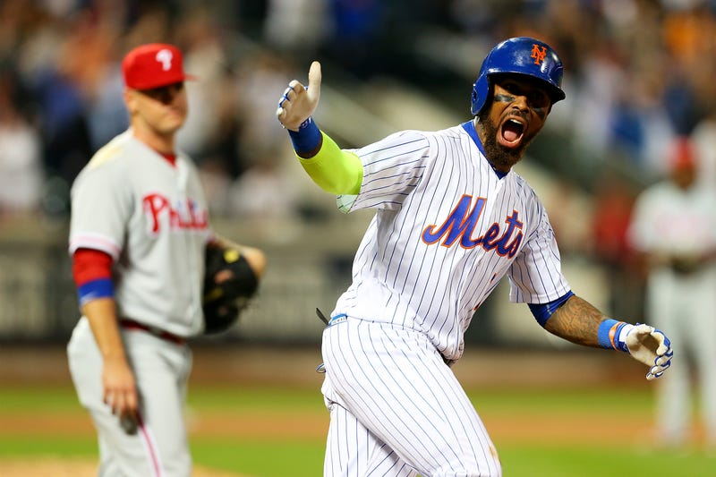 Here is the one person who is genuinely thrilled that Jose Reyes is on the Mets. (Photo by Mike Stobe/Getty Images)
