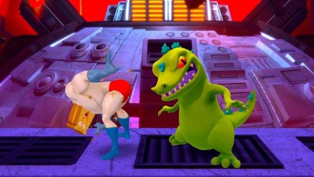 Nickelodeon All-Star Brawl Datamining Hints At Future Characters
