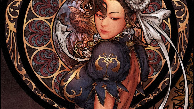 Illustration for article titled An Elegant Chun-Li For A More Civilized Age