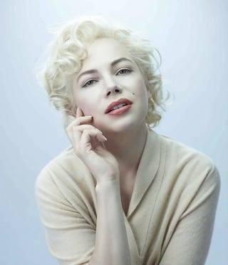 Illustration for article titled Michelle Williams As Marilyn Monroe