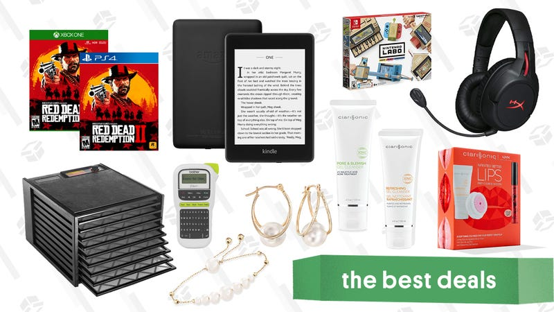 Illustration for article titled Sunday's Best Deals: iPads, m50xBT Headphones, Kingdom Hearts III, Clarisonic Accessories, and More