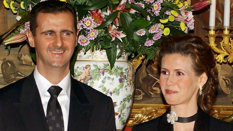 Illustration for article titled Syria's First Lady Has Quite the Luxury Shopping List