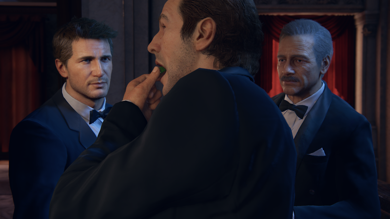 Illustration for article titled REMINDER: CHARACTERS EAT BY PUTTING FOOD IN THEIR MOUTHS IN UNCHARTED 4