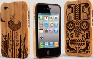 Illustration for article titled Bamboo iPhone 4 Cases Show Your Green-Leaning