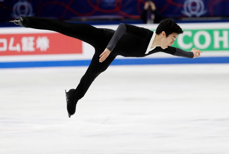 Illustration for article titled Nathan Chen Wins Men's Figure Skating World Title