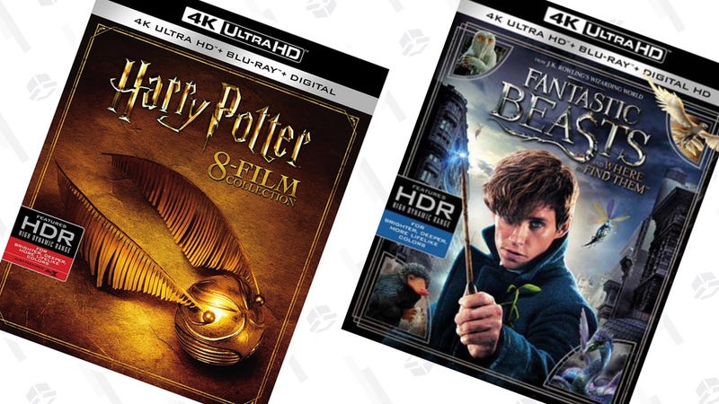 Harry Potter 8-Film 4K Collection | $80 | AmazonHarry Potter 8-Film Collection | $29 | Amazon