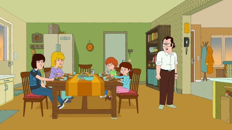 Illustration for article titled F Is For Family works best when it uses the whole alphabet