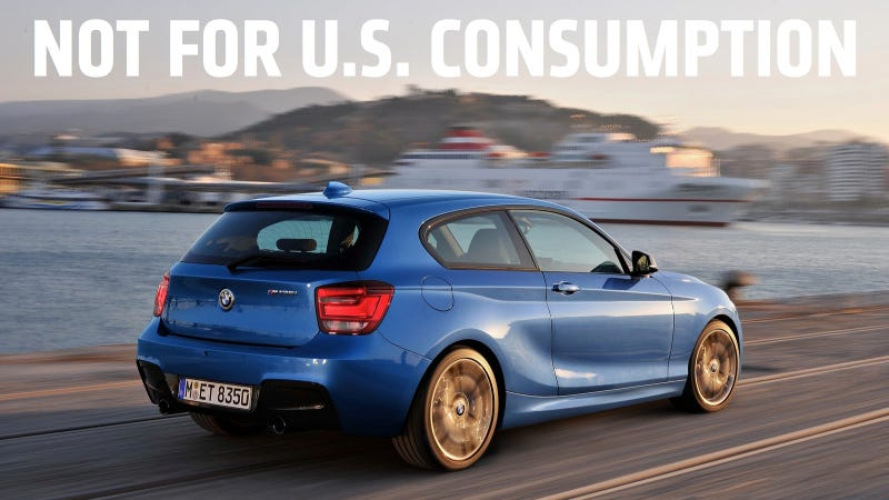 A Simple Explanation Why America Doesnt Get European Hatchbacks - Bmw 1 series usa