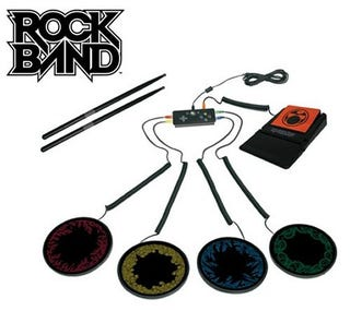 Illustration for article titled Mad Catz Launch Porta-Drums For Rock Band