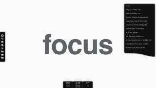 Illustration for article titled Monotone Focus Desktop