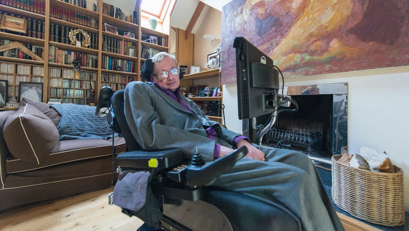 Illustration for article titled Stephen Hawking's ACAT: Changing the Life of One of Our Greatest Minds