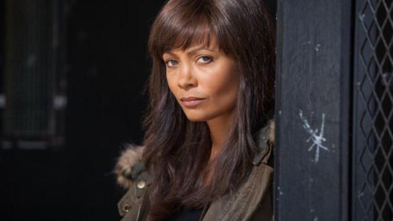 Illustration for article titled Thandie Newton will also be a robot or get killed by a robot in Westworld
