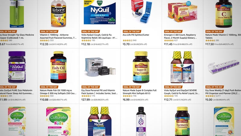 Cold Remedy Gold Box | Amazon