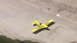 Illustration for article titled The plane that landed in the LA River is a Piper Pawnee