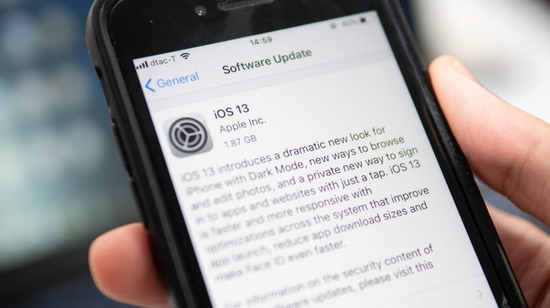 Update to iOS 13.1 Now