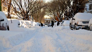 Chiberia Rising, in Pictures: Man, Last Night's Blizzard Sure Did Suck