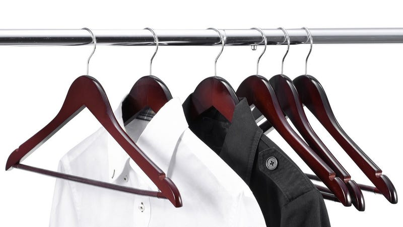 Wood Hangers 20-pack, $17 with code JMACT5NL