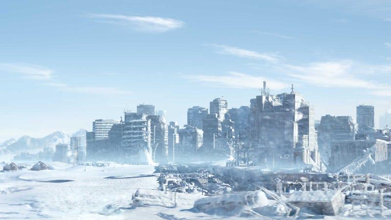 Fotograma de la película Snowpiercer