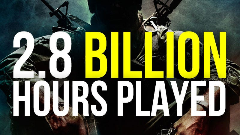 Illustration for article titled Call of Duty: Black Ops Hours Played Nearing 3 Billion