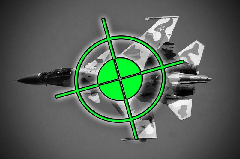 Illustration for article titled Unconfirmed Reports: Russian Aircraft Shot Down After It Violated Turkish Airspace